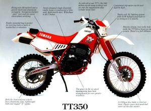 Yamaha TT350 a