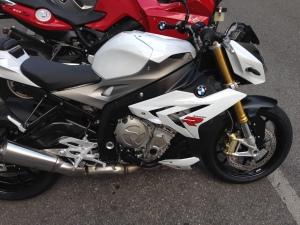 S1000R al ritiro in Motorrad