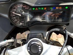 R1200RS keyless drive