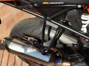 KTM pinna posteriore CF