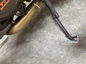 KTM RG kickstand shoe