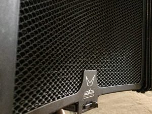 KTM griglia radiatore montata